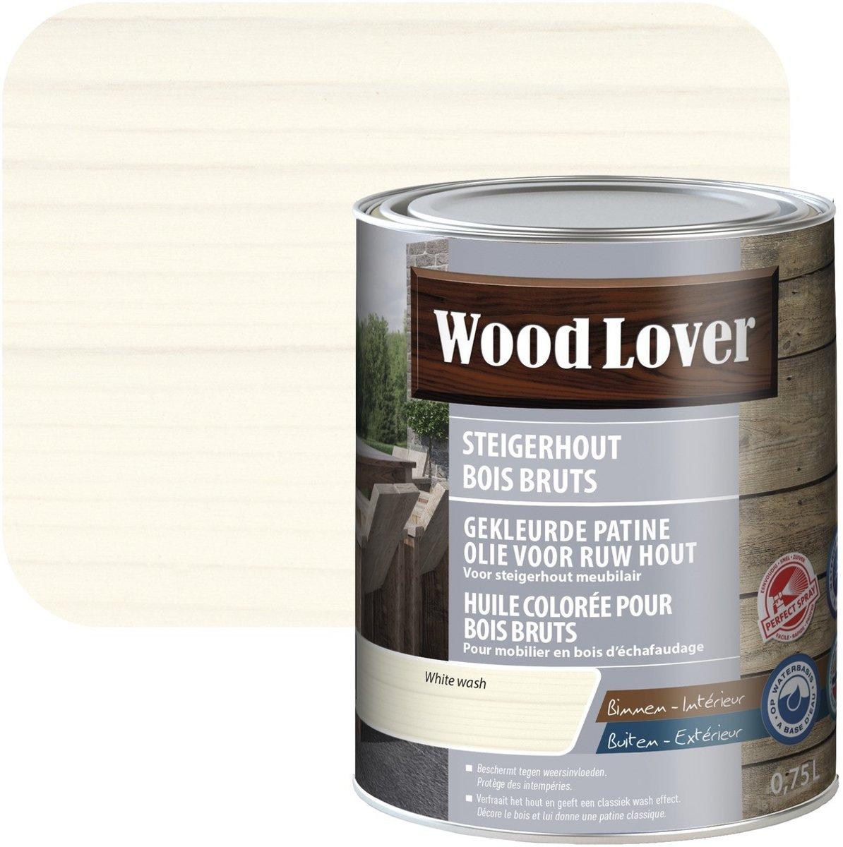 Olie steigerhout 0,75l white wash kopen