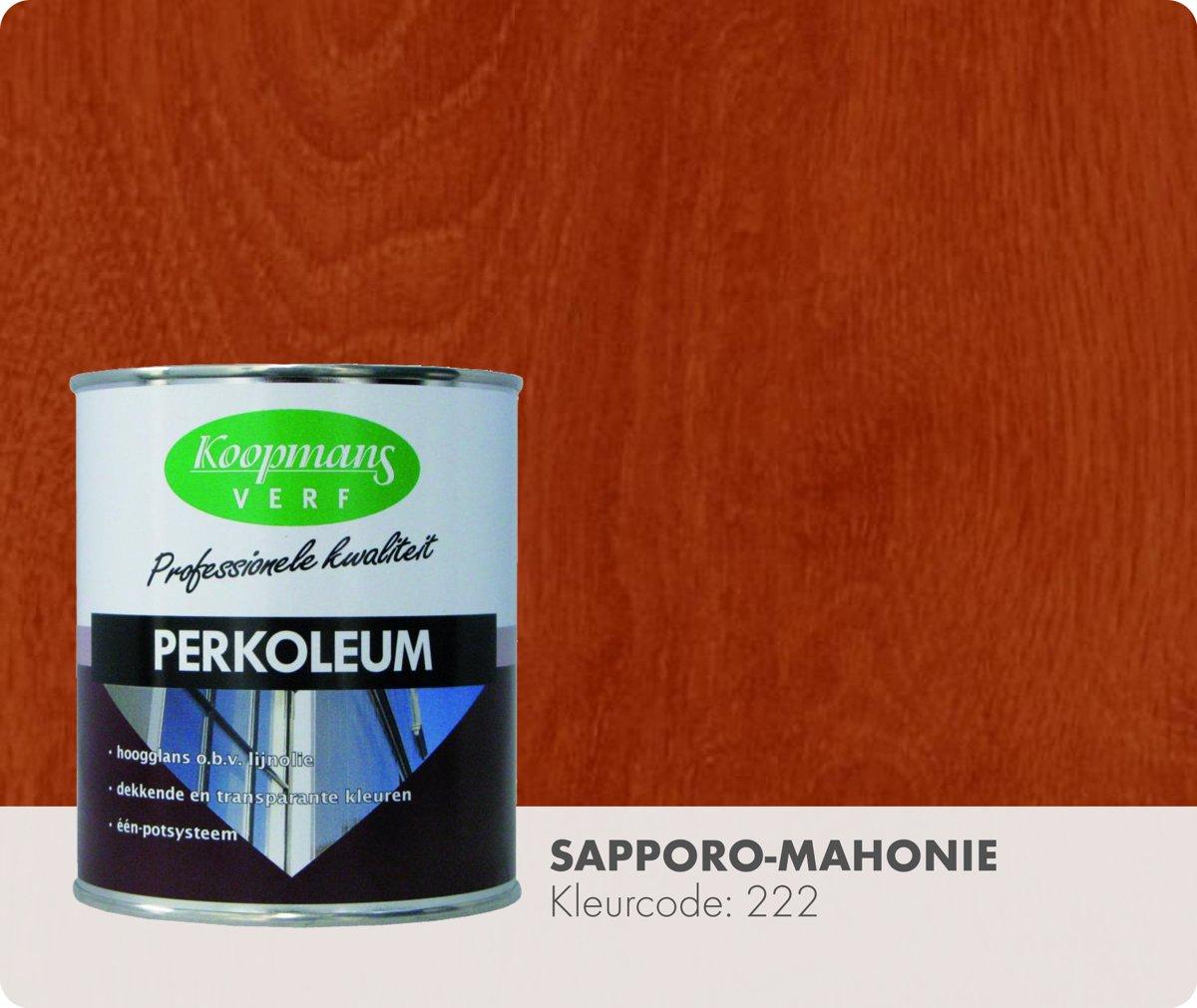 Koopmans Perkoleum - Transparant - 0,75 liter - Sapporo-Mahonie kopen