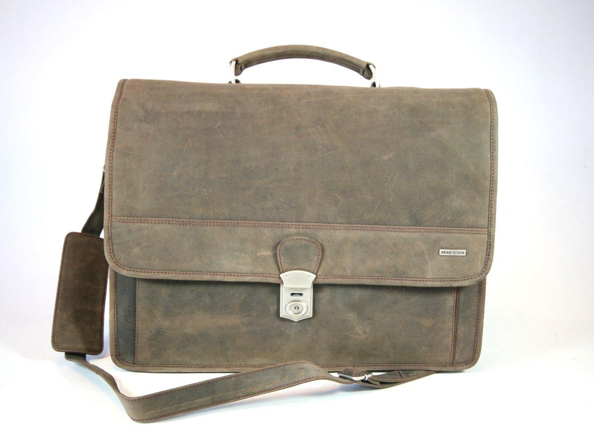d7ba93a50ac bol.com | Bear Design Dark Nature A4 Schoudertas 5458 Donkerbruin