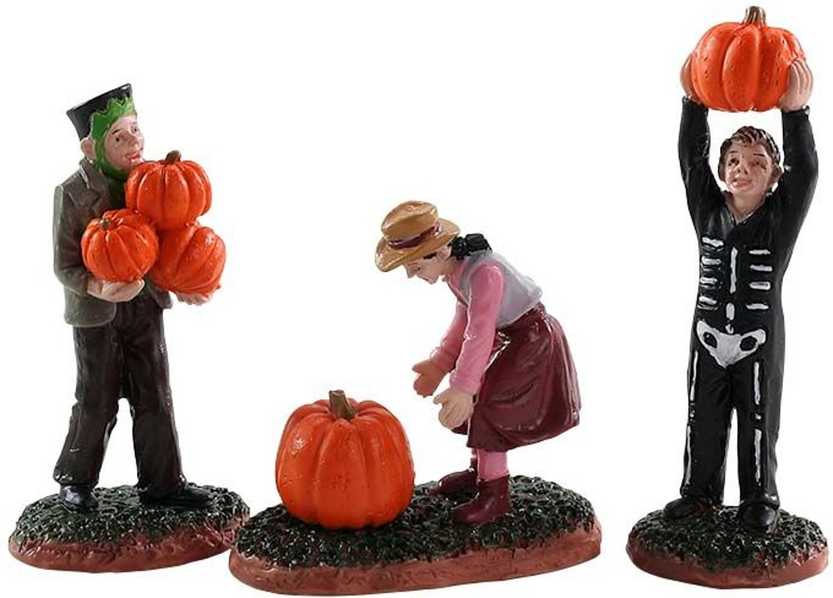 Lemax - Pumpkin Pickers - Set Of 3 kopen