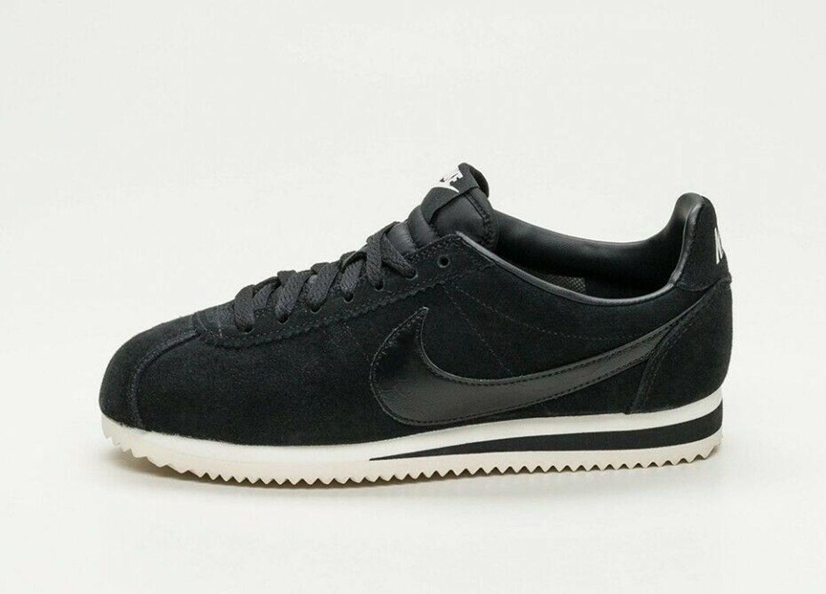 | Nike Classic Cortez SE Zwarte klassieke Sneaker