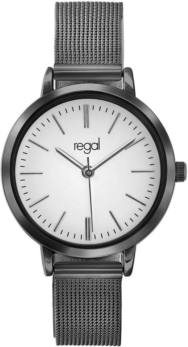 Regal - Regal mesh horloge met zwartkleurige band kopen