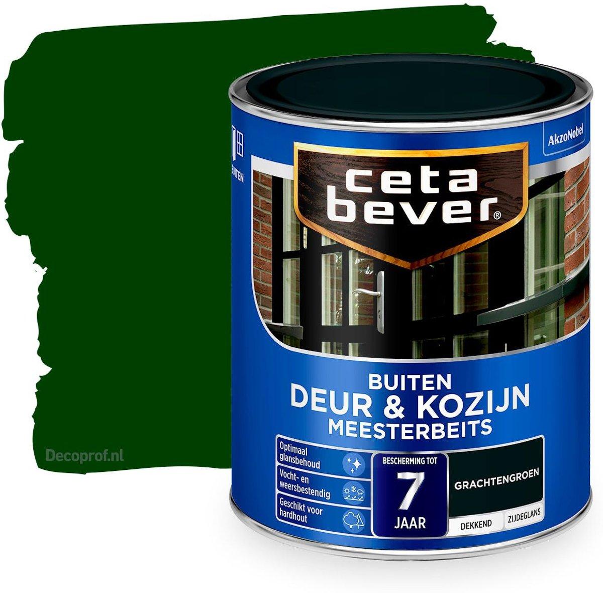 Cetabever Dekkend Meesterbeits Deur & Kozijn 650 Gracht Groen 750Ml kopen