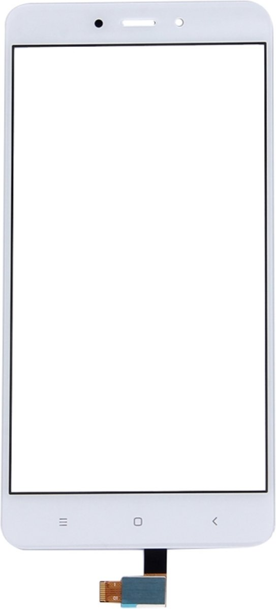 iPartsBuy Xiaomi Redmi Note 4 Touch Screen Digitizer Assembly(White) kopen