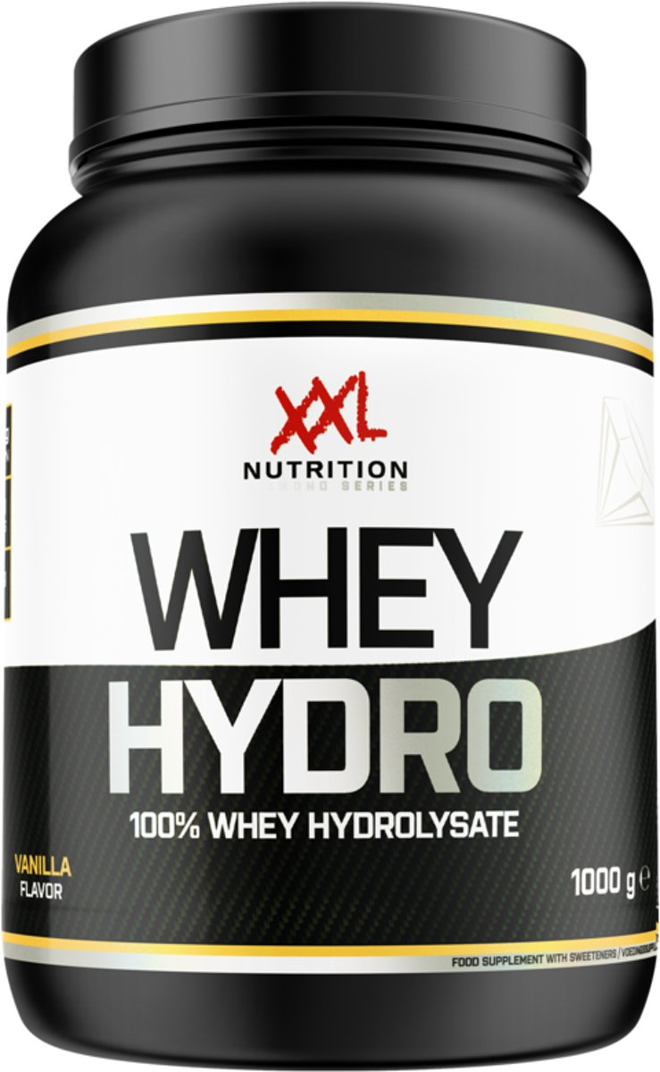 XXL Nutrition Whey Hydro - 2500 gram - Chocolade - Hazelnoot kopen