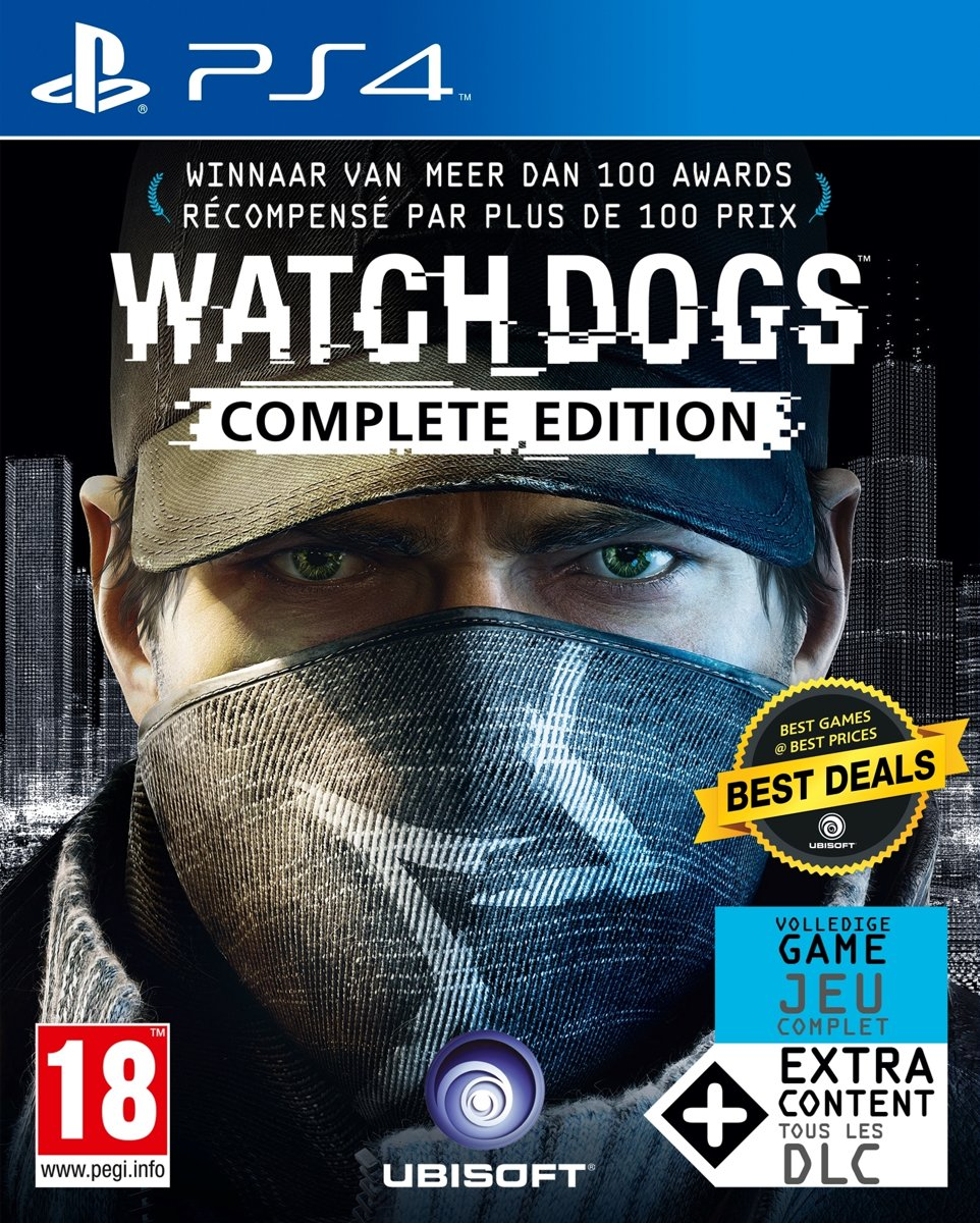Watch Dogs - Complete Edition PlayStation 4