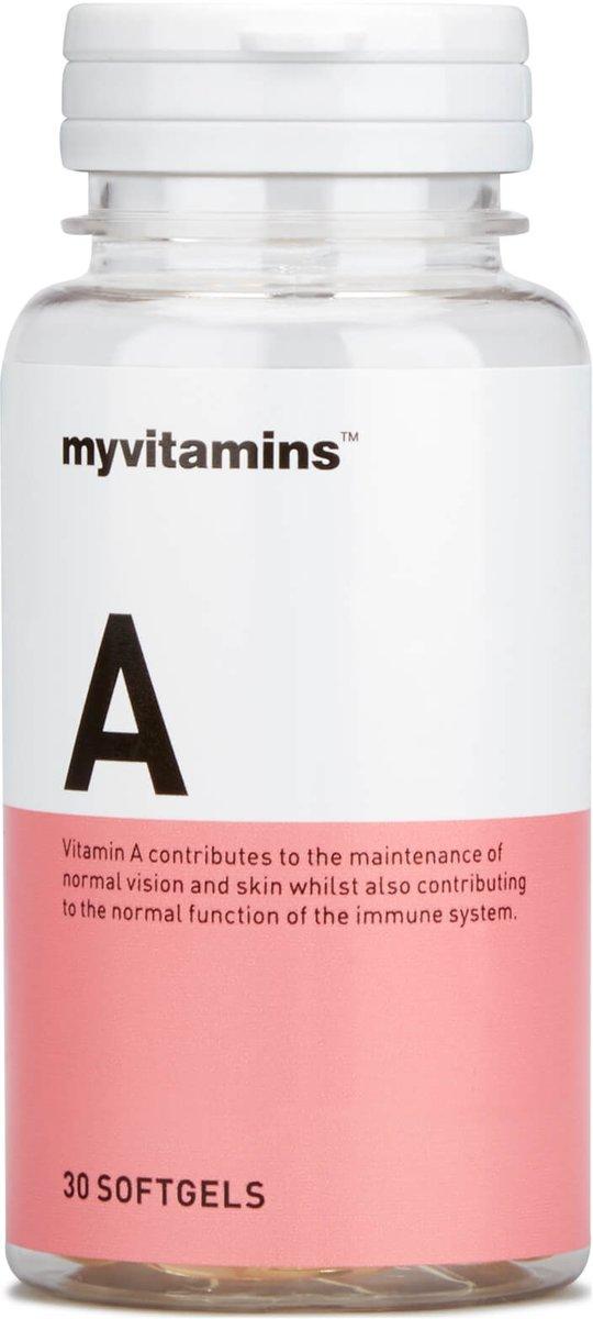 Vitamin A (30 Softgels) - Myvitamins kopen