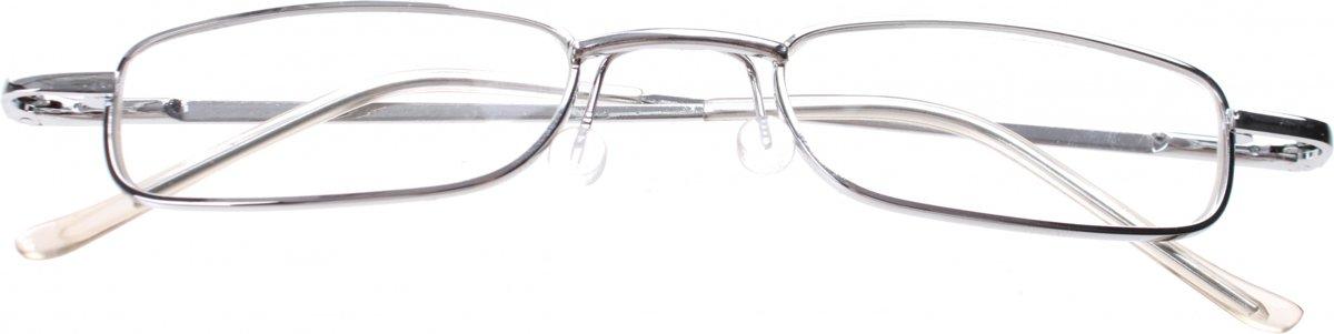 Lifetime-vision Leesbril Klassiek In Koker Unisex Zilver Sterkte +2.00 kopen
