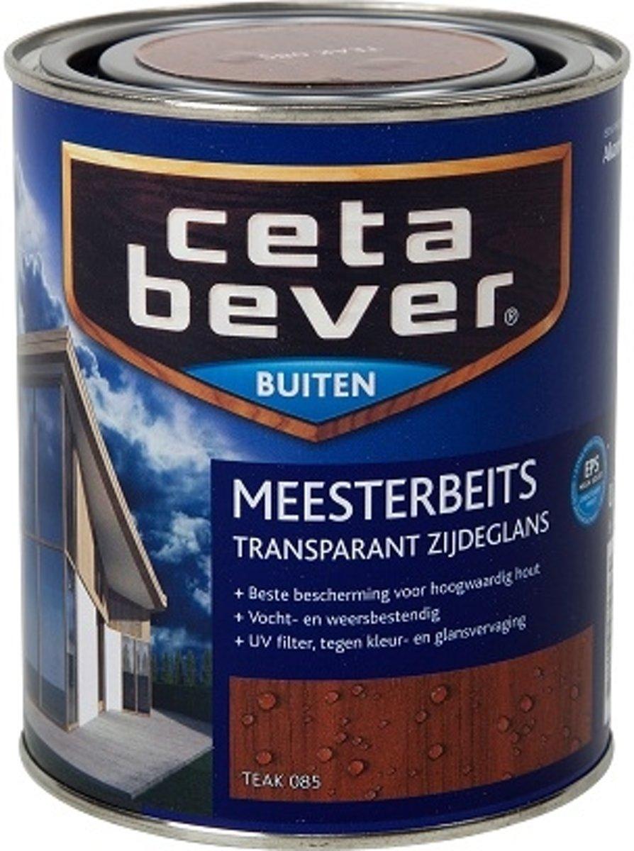 Cetabever Transparante Meesterbeits - 0,75 liter - Teak kopen