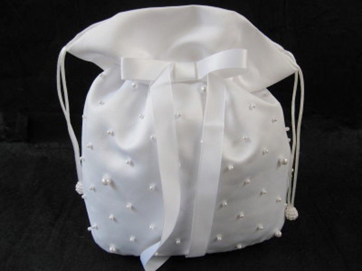 Bruidstasje Pearl Field Bag - wit kopen