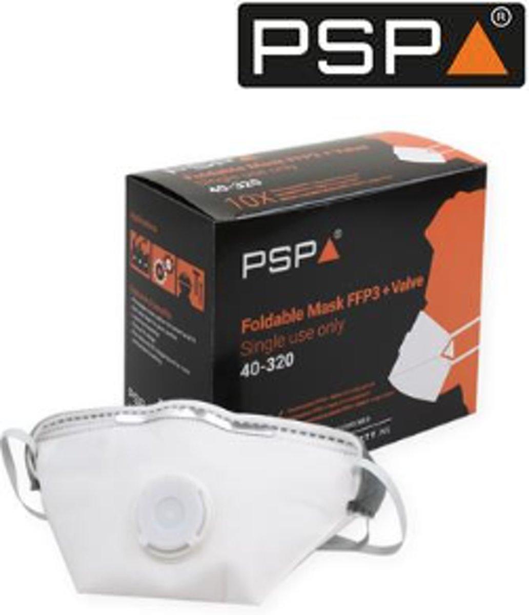 PSP 40-320 Vouwmasker FFP3/ 10 STKS kopen