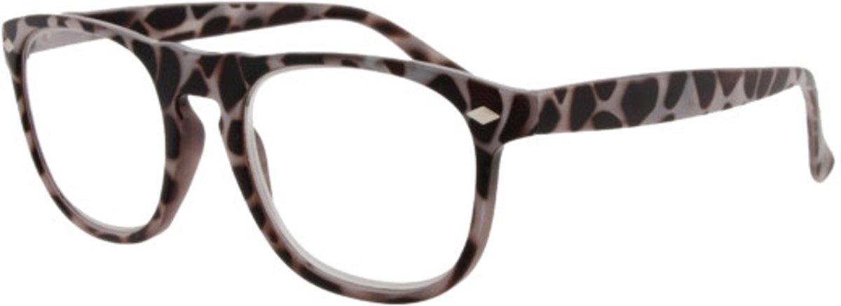 Icon Eyewear RCW002 Luciano Leesbril +2.50 - Milky tortoise kopen