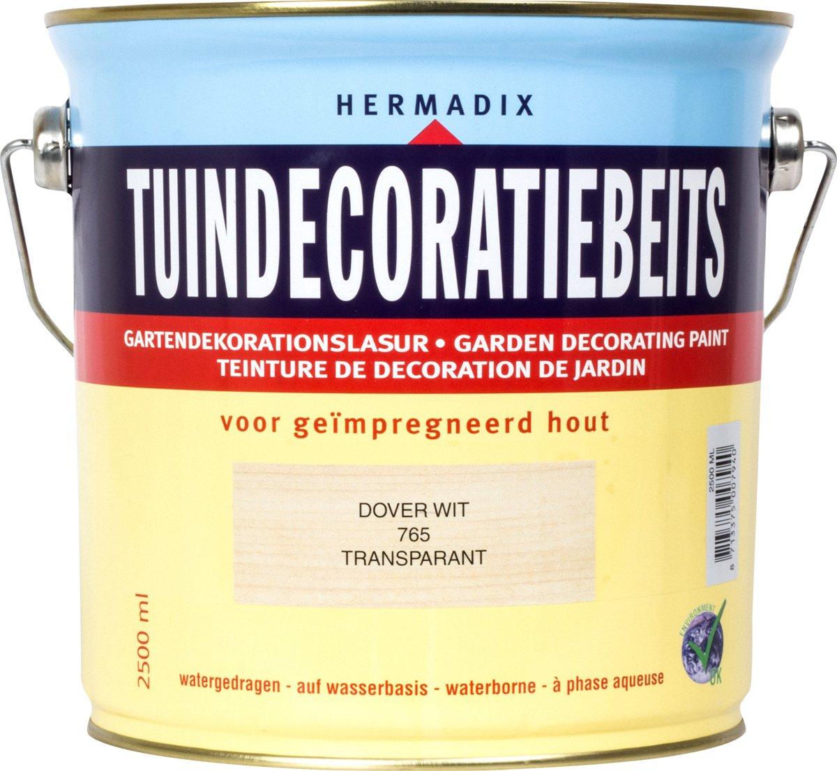 Hermadix Tuindecoratiebeits 765 Dover Wit - 2.5 l kopen