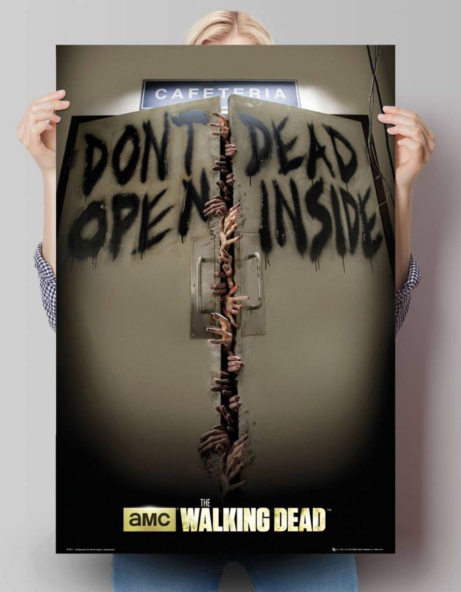 Reinders Poster The Walking Dead - keep out - Poster - 61 × 91,5 cm - no. 24794 kopen