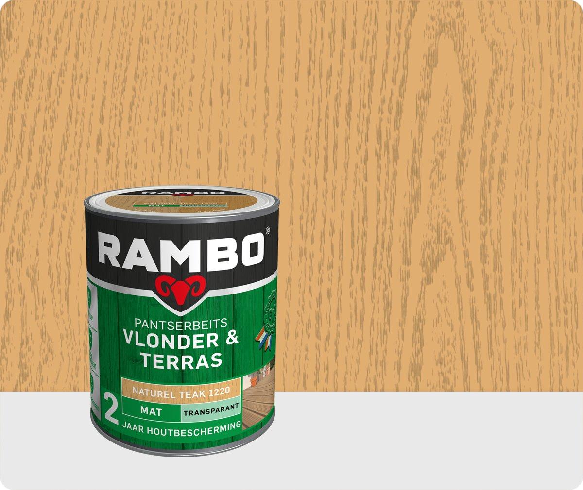 Rambo Vlonder & Terras pantserbeits mat transparant 1220 1 l kopen
