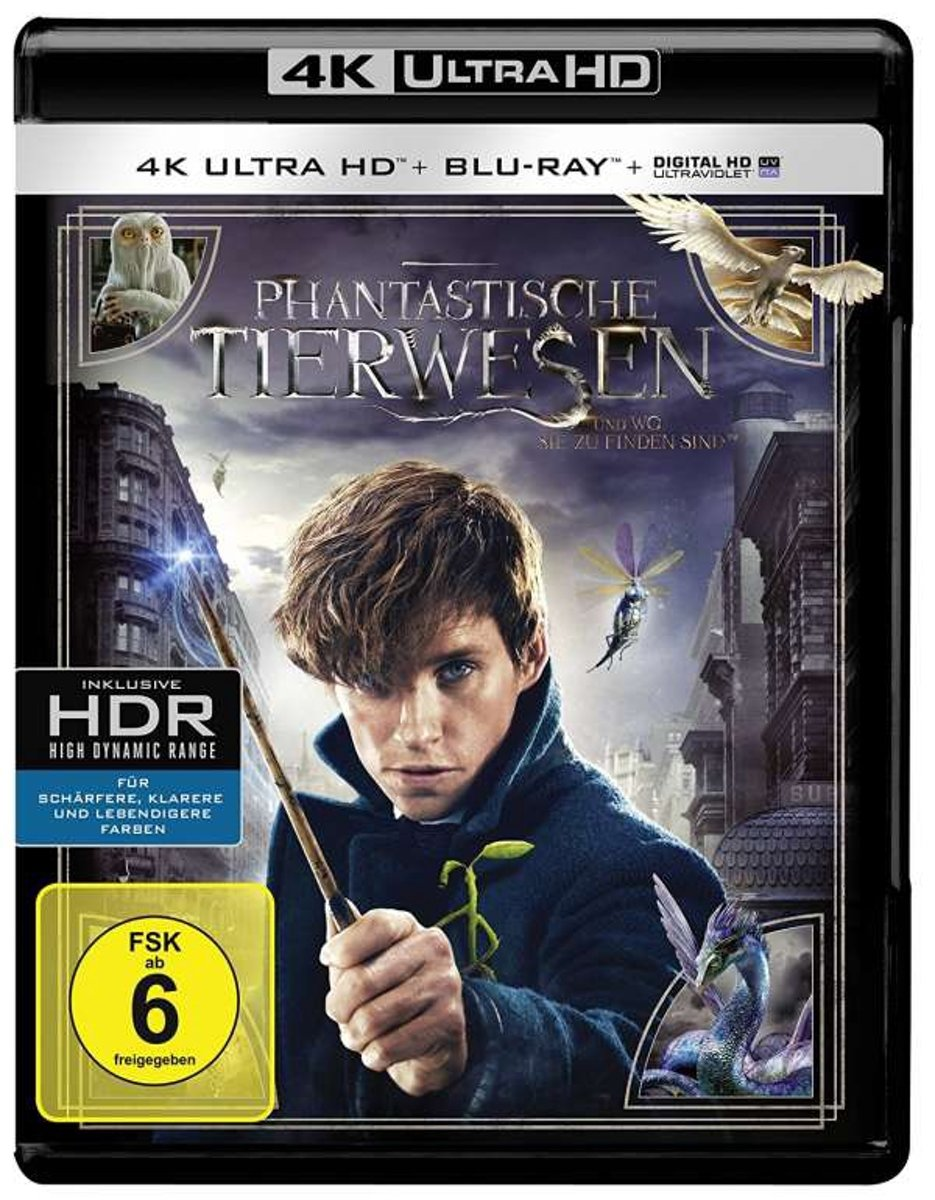 Fantastic Beasts and Where to Find Them (4K Ultra HD Blu-ray) (Import)-