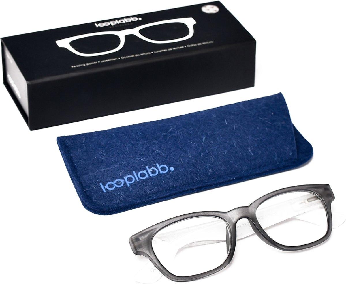 Looplabb. Momo Leesbril - Zwart - Sterkte: +2.00 kopen