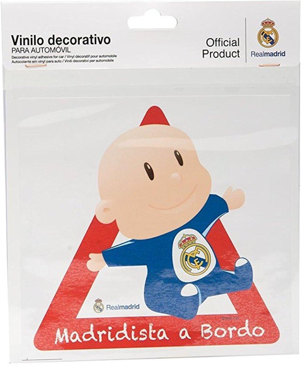 Sumex Sticker Madridista A Bordo Real Madrid Per Stuk