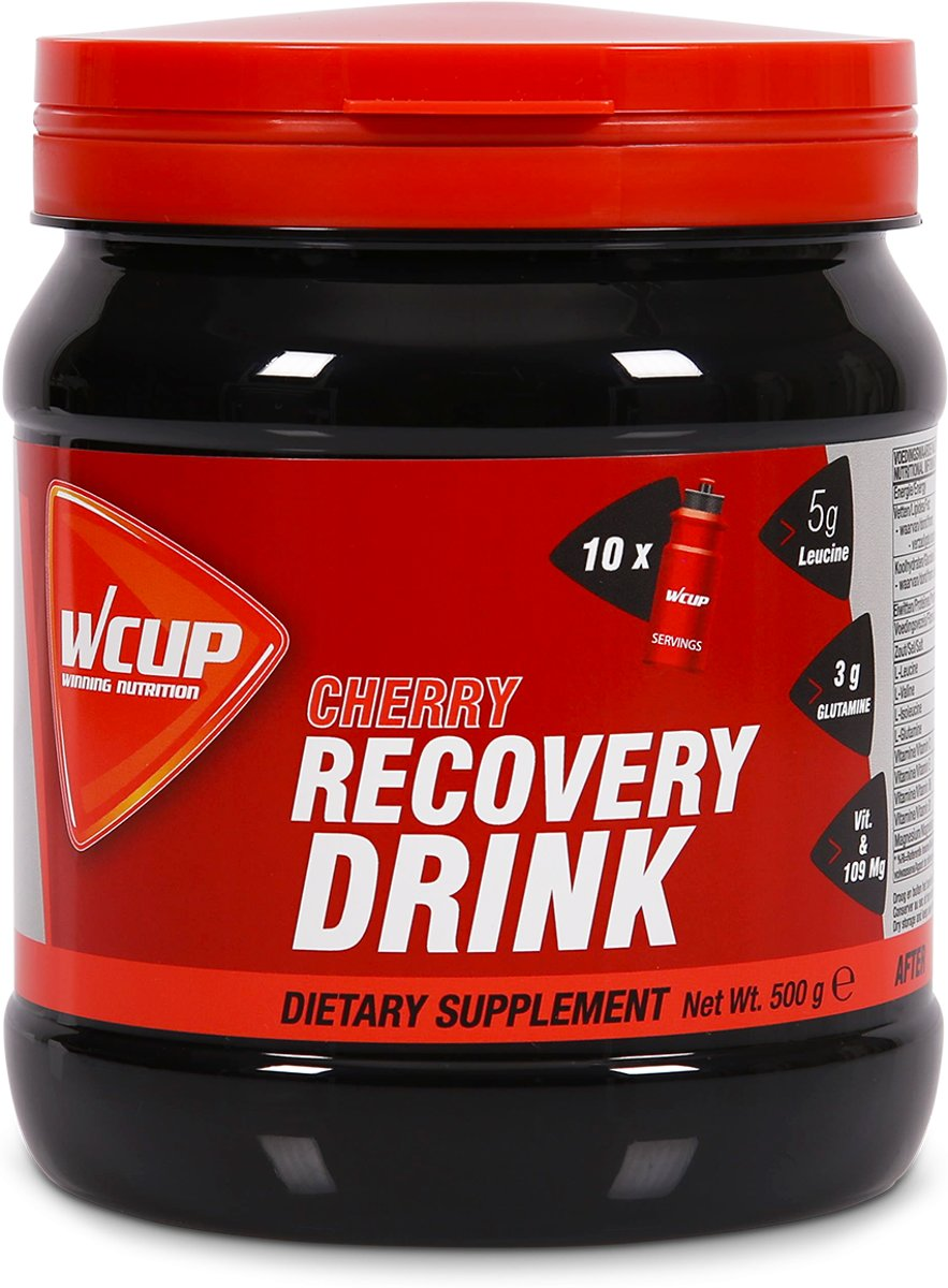 Wcup Recovery Drink Cherry 500 gram kopen