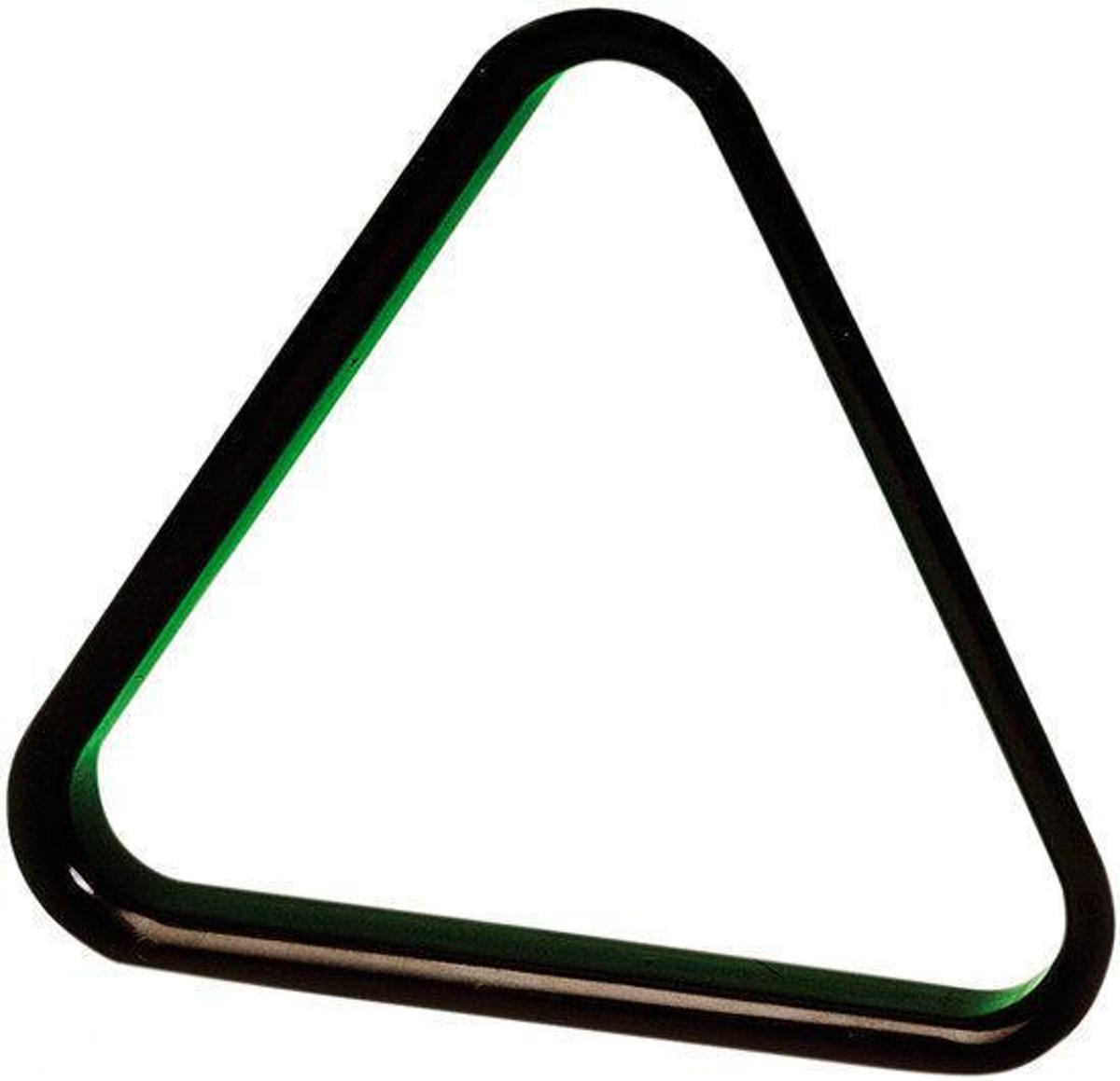 Black Plastic Triangle 57.2mm