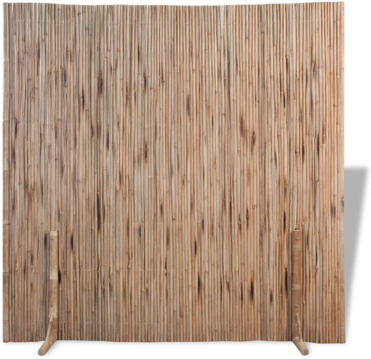 vidaXL Ruimteverdeler/schuttingpaneel 180 x cm bamboe kopen
