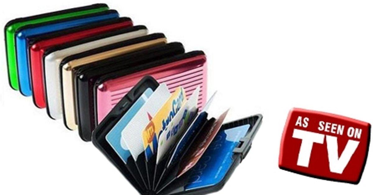 Aluminium Wallet XXL - Bekend van TV! kopen