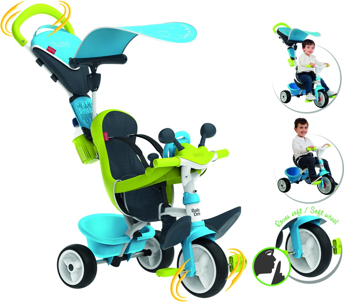Baby Driver Confort 2 Blauw