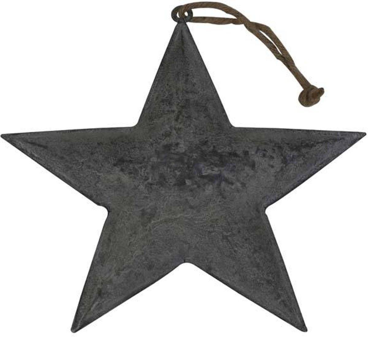 Deco Star 21x1cm Zink kopen