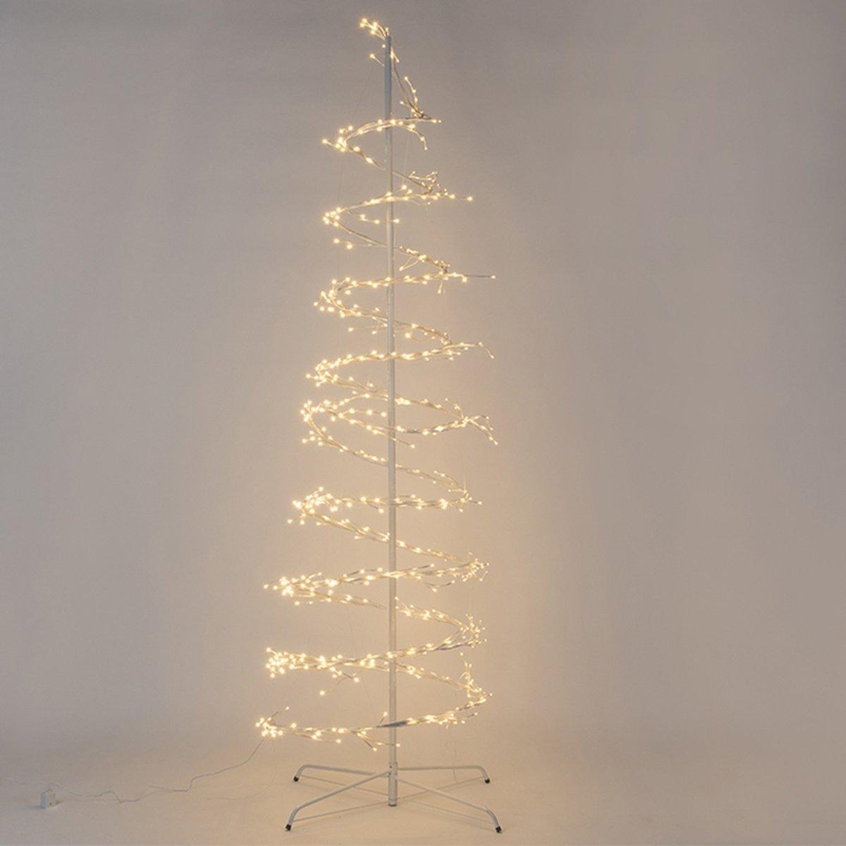 Kerstverlichting spiraalboom Twinkel LED warm wit 2,4 meter kopen