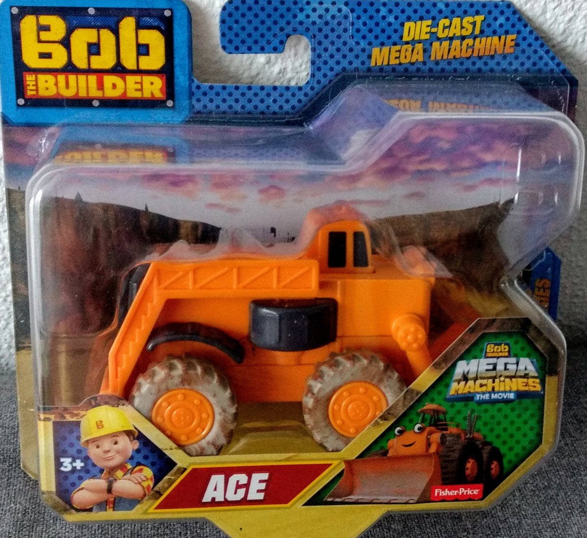 Bob de Bouwer Mega Machines Ace