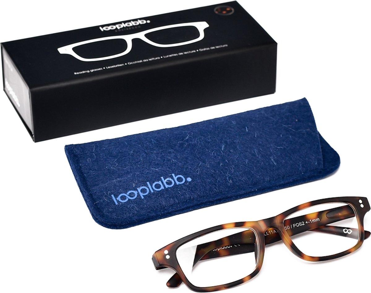 Looplabb. Legend Leesbril - Havana Bruin - Sterkte: +2.50 kopen