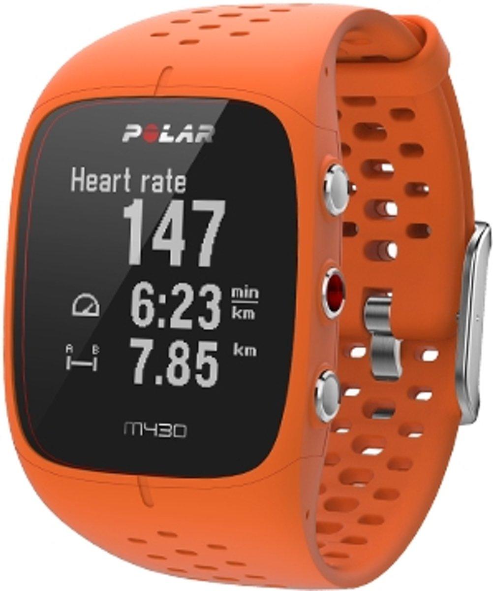 Polar M430 GPS Sporthorloge - Oranje - Large kopen