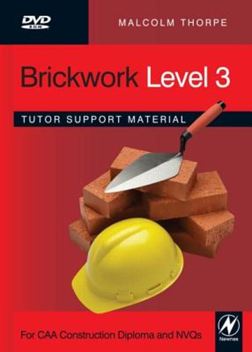 bol.com | Brickwork Level 3 Tutor Support Material | 9780080965857 |  Malcolm Thorpe | Boeken