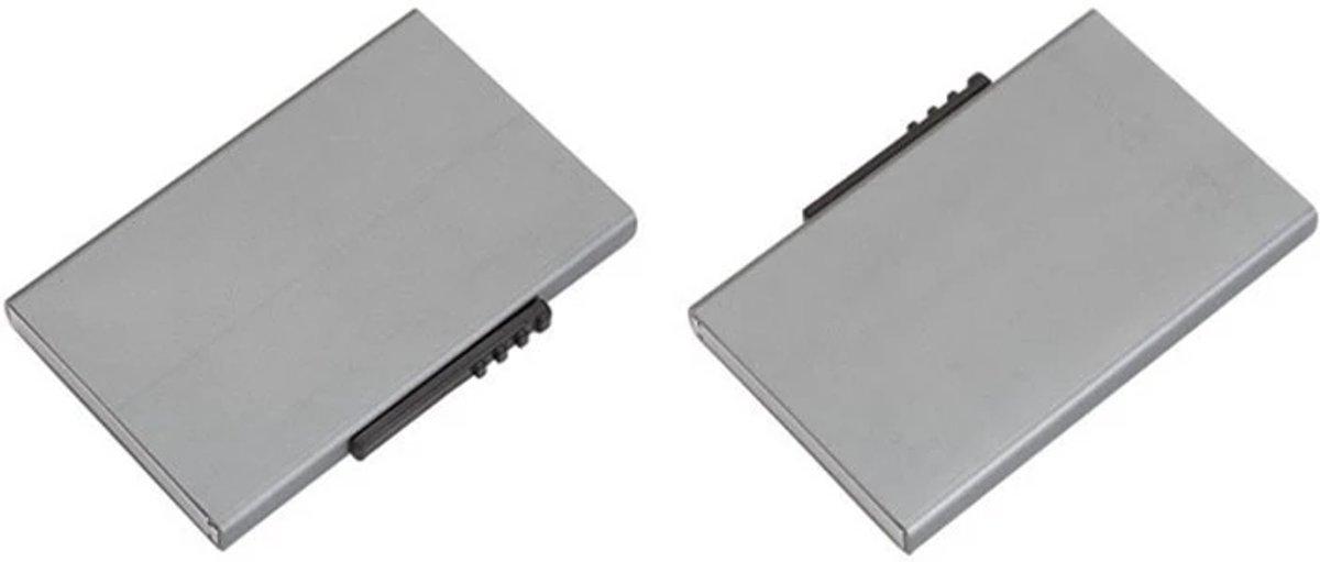 Pasjeshouder / creditcardhouder van Aluminium - Uitschuifbare Pasjes Houder tegen Skimmen,  Diefstal en RIFD Scanners kopen
