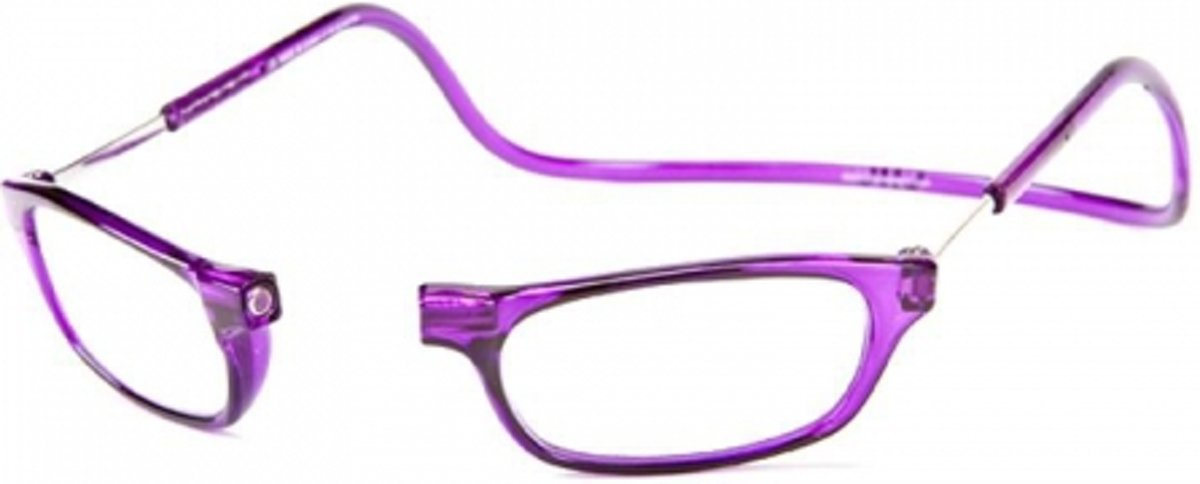 Clic Leesbril paars +2.5 kopen