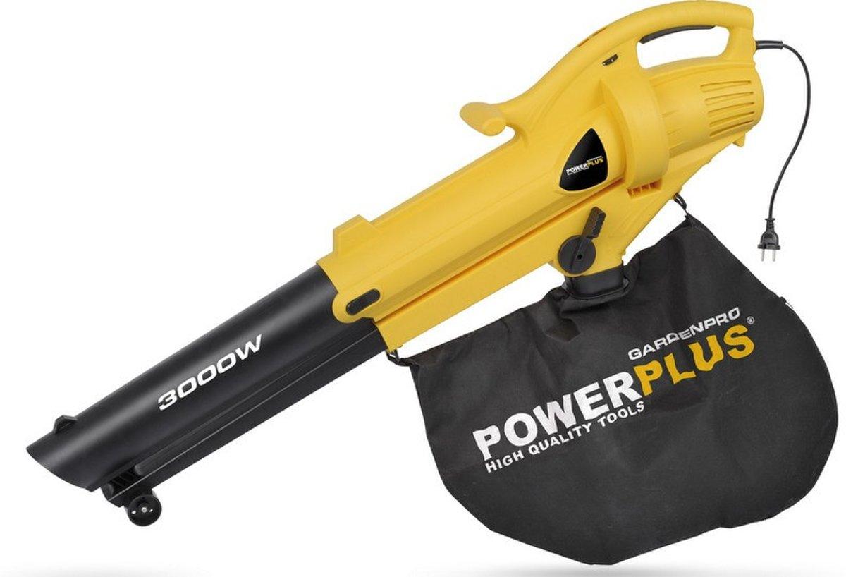 Powerplus POWXG4035 Bladblazer - Met zuigfunctie - 3000 watt - Opvangzak 50 l