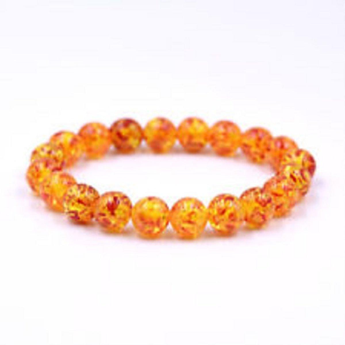 Armband Synthetisch Amber kopen