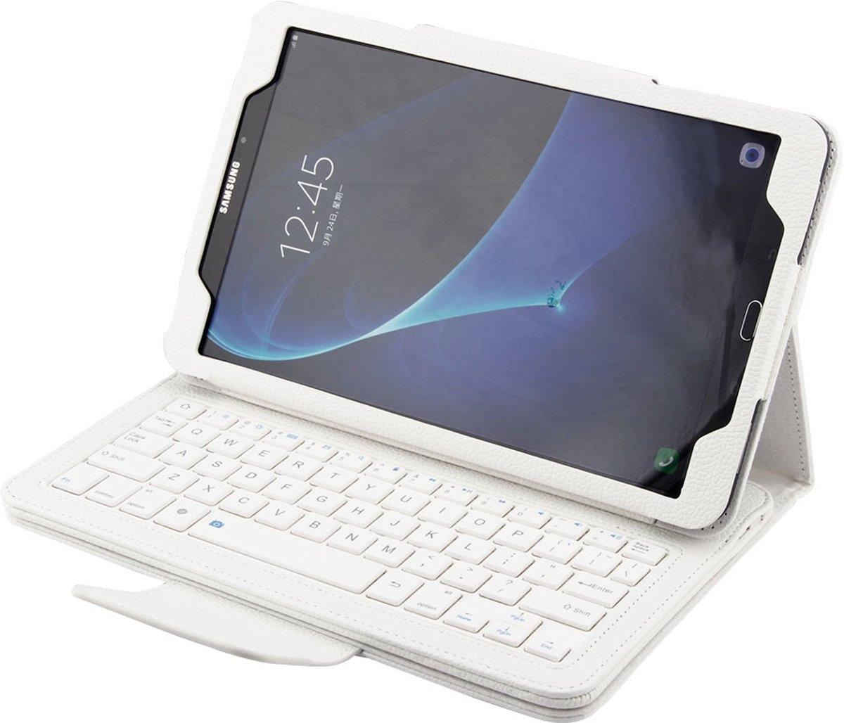 Samsung Tab A 10.1 hoes met toetsenbord wit T580 T585 kopen