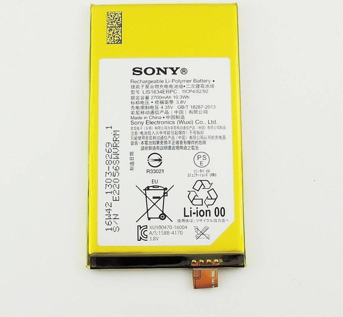 Sony Accu, LIS1634ERPC, 2570mAh, 1303-8269 kopen