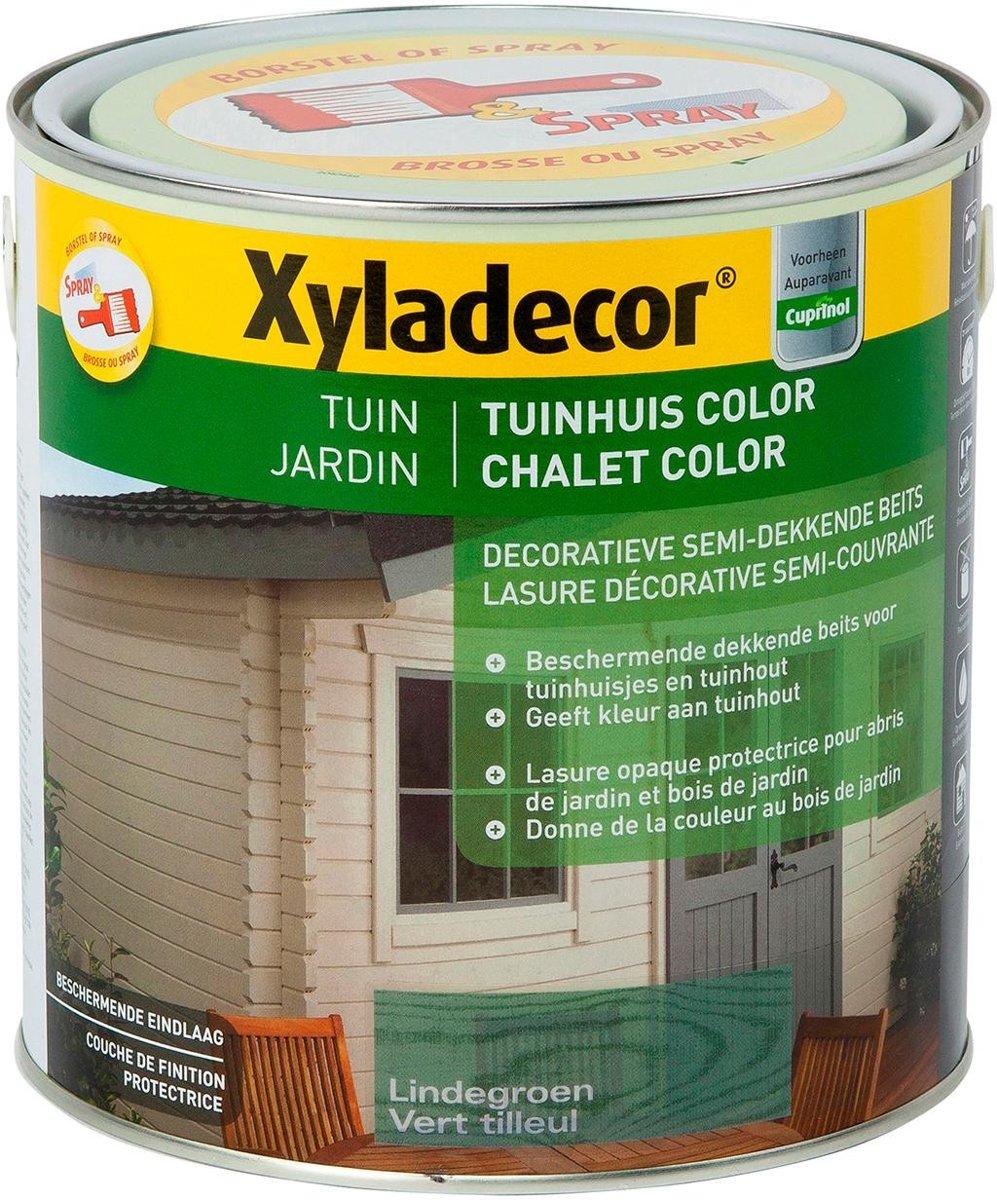 Houtbeits Tuin Color 2,5L Lindegroen kopen