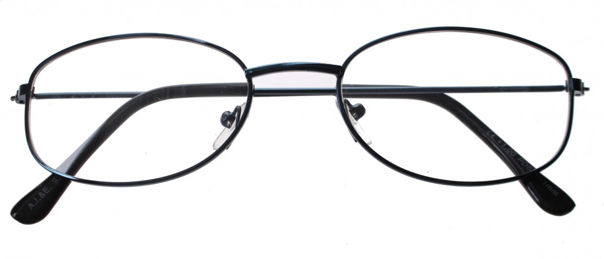 Lifetime-vision Leesbril Blauw Unisex Ovaal Sterkte +3.00 kopen