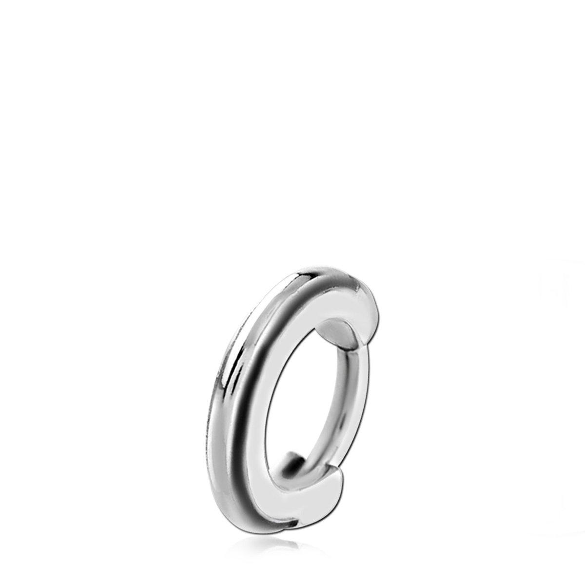 Lucardi - Stalen helixpiercing ring clicker kopen