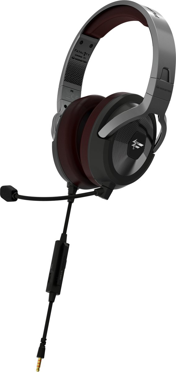 Fatal1ty by Monster FXM 200 - Ultra High Performance Over-Ear Gaming Headset