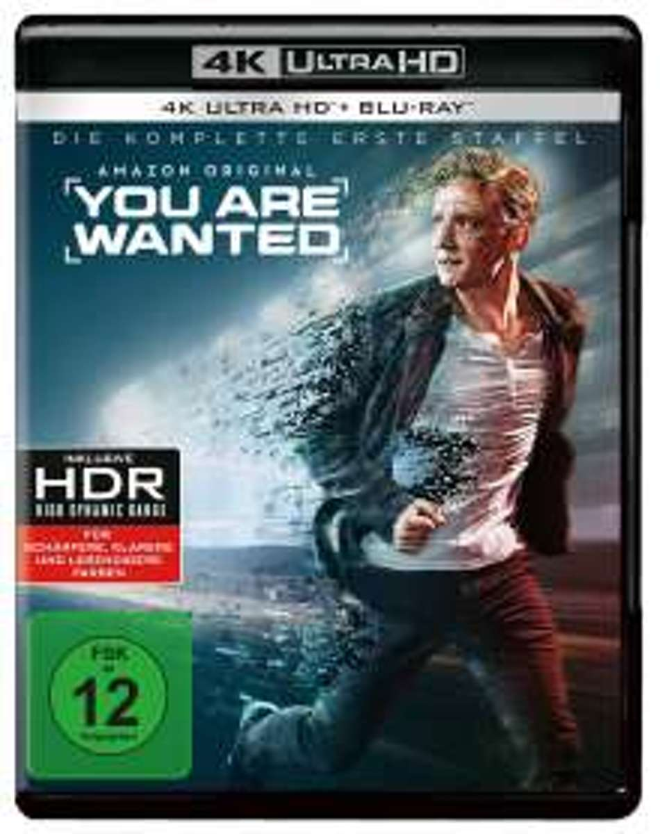 You are wanted Staffel 1 (Ultra HD Blu-ray & Blu-ray)-