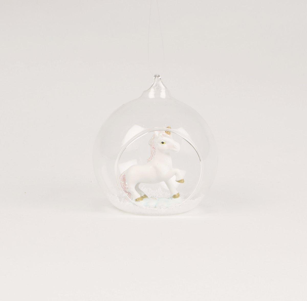Unicorn kerstbal - set van 6 kopen