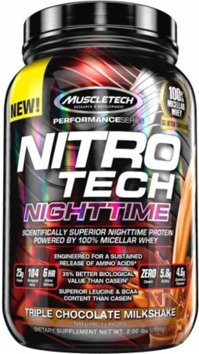 Nitro Tech Nighttime 907gr Chocolade kopen