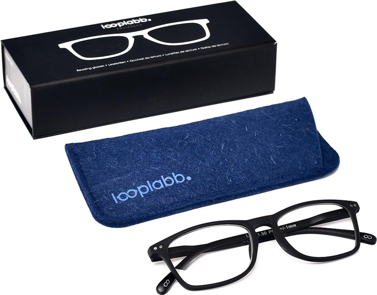 Looplabb. Legend Leesbril - Zwart - Sterkte: +2.50 kopen