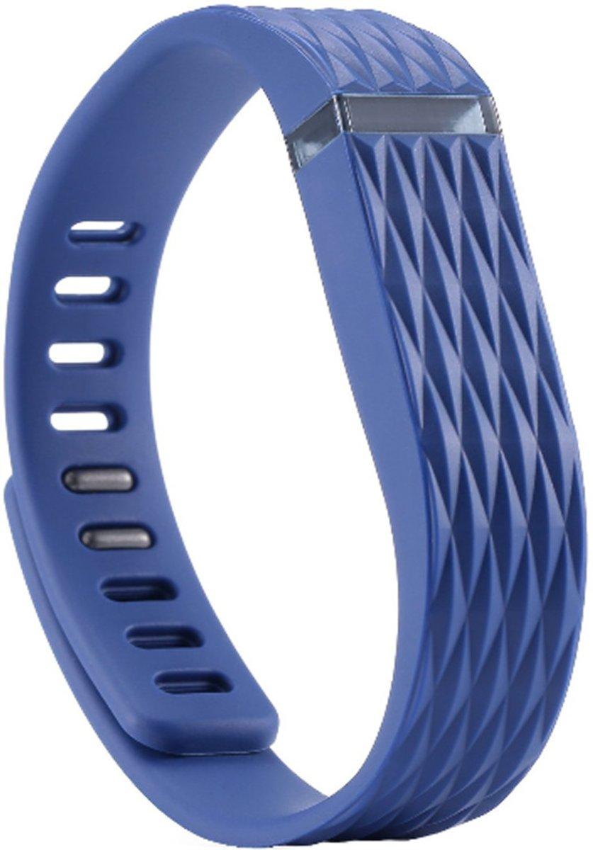 Matrix Line - TPU armband voor Fitbit Flex - Donker blauw kopen