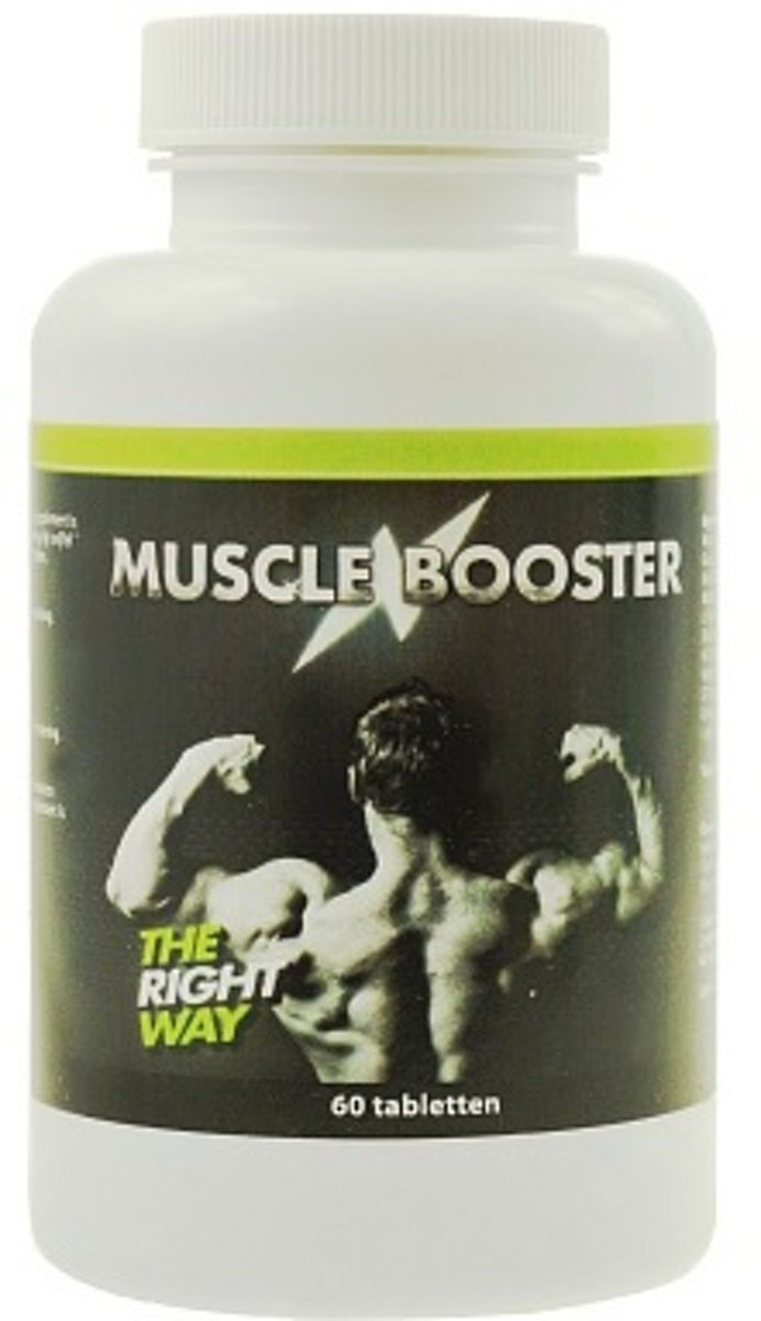 Muscle Booster - 60 capsules - Voedingssupplement kopen