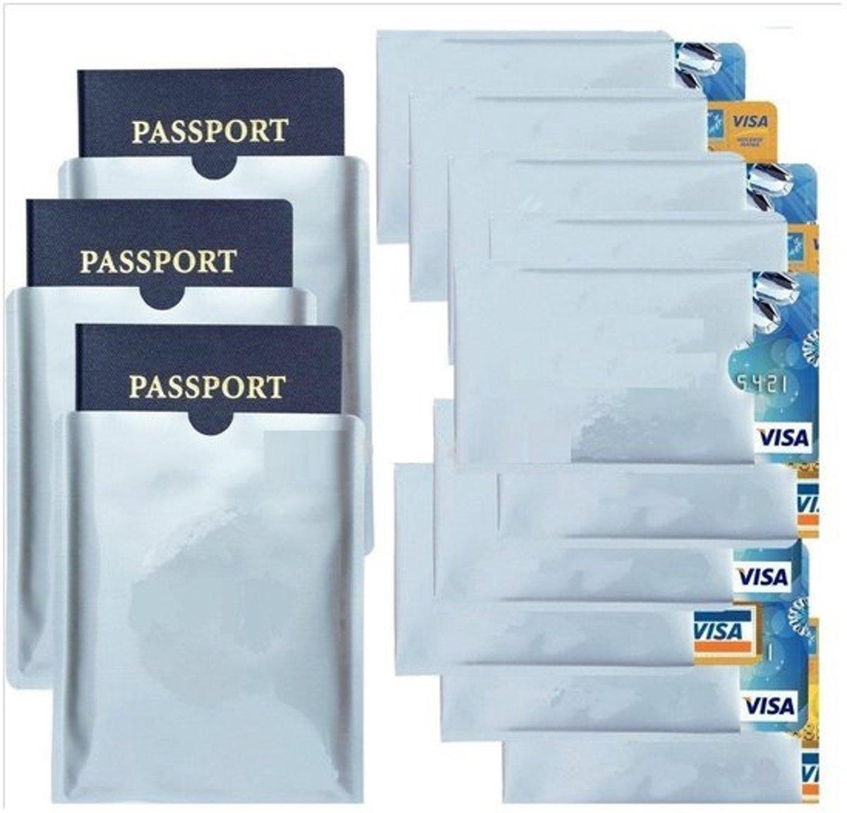 Professionele AA Commerce RFID Blocker Set - Kaartbeschermer / Cardprotector - 13 Stuks kopen